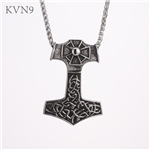 Anchor Shape w/ Cross Pendant Vintage Jewelry Stainless Steel New Design Necklace S448