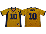 California Golden Bears #10 Marshawn Lynch Gold College Football Jersey