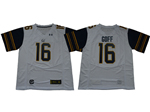 California Golden Bears #16 Jared Goff White College Football Jersey