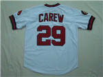 California Angels #29 Rod Carew Throwback White Jersey