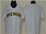 Milwaukee Brewers White 2020 Cool Base Team Jersey