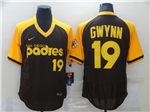 San Diego Padres #19 Tony Gwynn Brown Cooperstown Colletcion 2020 Flex Base Jersey