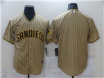 San Diego Padres Gray Pinstripe Cool Base Team Jersey