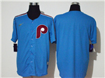 Philadelphia Phillies Light Blue 2020 Cooperstown Collection Cool Base Team Jersey