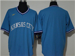 Kansas City Royals Blue 2020 Cooperstown Collection Cool Base Team Jersey