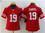 San Francisco 49ers #19 Deebo Samuel Women's Red Vapor Limited Jersey