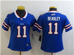 Buffalo Bills #11 Cole Beasley Women's White Vapor Limited Jersey