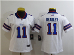 Buffalo Bills #11 Cole Beasley Women's Blue Vapor Limited Jersey