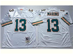 Miami Dolphins #13 Dan Marino 1994 Throwback white Jersey