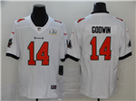 Tampa Bay Buccaneers #14 Chris Godwin White Super Bowl LV Limited Jersey