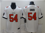 Tampa Bay Buccaneers #54 Lavonte David 2020 White Vapor Limited Jersey