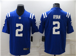 Indianapolis Colts #2 Carson Wentz Blue Vapor Limited Jersey
