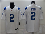 Indianapolis Colts #2 Carson Wentz White Vapor Limited Jersey