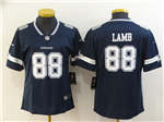 Dallas Cowboys #88 CeeDee Lamb Women's Blue Vapor Limited Jersey
