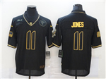 Atlanta Falcons #11 Julio Jones 2020 Black Gold Salute To Service Limited Jersey