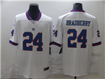 New York Giants #24 James Bradberry White Color Rush Limited Jersey