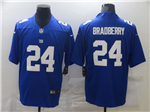 New York Giants #24 James Bradberry Blue Vapor Limited Jersey