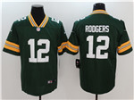Green Bay Packers #12 Aaron Rodgers Green Vapor Untouchable Limited Jersey