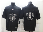 Oakland Raiders #11 Henry Ruggs III Black Shadow Logo Limited Jersey