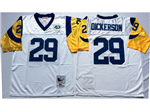 Los Angeles Rams #29 Eric Dickerson White Throwback Jersey