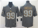 Los Angeles Rams #99 Aaron Donald Gray Camo Limited Jersey