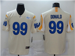 Los Angeles Rams #99 Aaron Donald 2020 Bone Vapor Limited Jersey