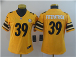 Pittsburgh Steelers #39 Minkah Fitzpatrick Women's Gold Inverted Limited Jersey