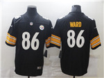Pittsburgh Steelers #86 Hines Ward Black Vapor Limited Jersey