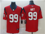 Houston Texans #99 J.J. Watt Red Vapor Untouchable Limited Jersey