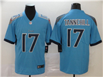 Tennessee Titans #17 Ryan Tannehill Light Blue Vapor Limited Jersey