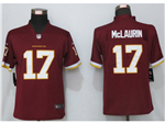 Washington Football Team #17 Terry McLaurin Women's Burgundy Vapor Limited Jersey