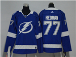Tampa Bay Lightning #77 Victor Hedman Youth Blue Jersey