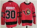 Ottawa Senators #30 Matt Murray Red 2020/21 Reverse Retro Jersey