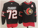 Ottawa Senators #72 Thomas Chabot Black 2020/21 Home Jersey