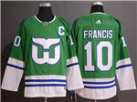Hartford Whalers #10 Emile Francis Green Jersey