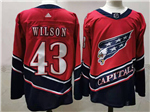 Washington Capitals #43 Tom Wilson Red 2020/21 Reverse Retro Jersey