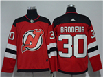New Jersey Devils #30 Martin Brodeur Red Jersey