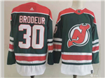 New Jersey Devils #30 Martin Brodeur 2020/21 Reverse Retro Jersey