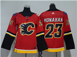 Calgary Flames #23 Sean Monahan Youth Home Red Jersey