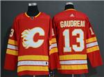 Calgary Flames #13 Johnny Gaudreau Alternate Red Jersey
