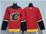 Calgary Flames Youth Home Red Team Jersey
