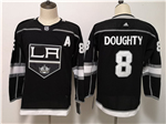 Los Angeles Kings #8 Drew Doughty Youth Home Black Jersey