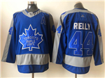 Toronto Maple Leafs #44 Morgan Rielly Blue 2020/21 Reverse Retro Jersey