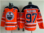 Edmonton Oilers #97 Connor McDavid Orange Jersey