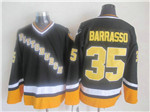 Pittsburgh Penguins #35 Tom Barrasso 1996 CCM Vintage Black Jersey