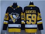 Pittsburgh Penguins #59 Jake Guentzel Black Jersey