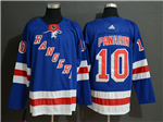 New York Rangers #10 Artemi Panarin Home Royal Blue Jersey