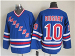 New York Rangers #10 Ron Duguay CCM Royal Blue Heroes of Hockey Alumni Jersey