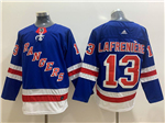 New York Rangers #13 Alexis Lafreniere Home Royal Blue Jersey