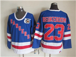 New York Rangers #23 Jeff Beukeboom CCM 75th Blue Jersey